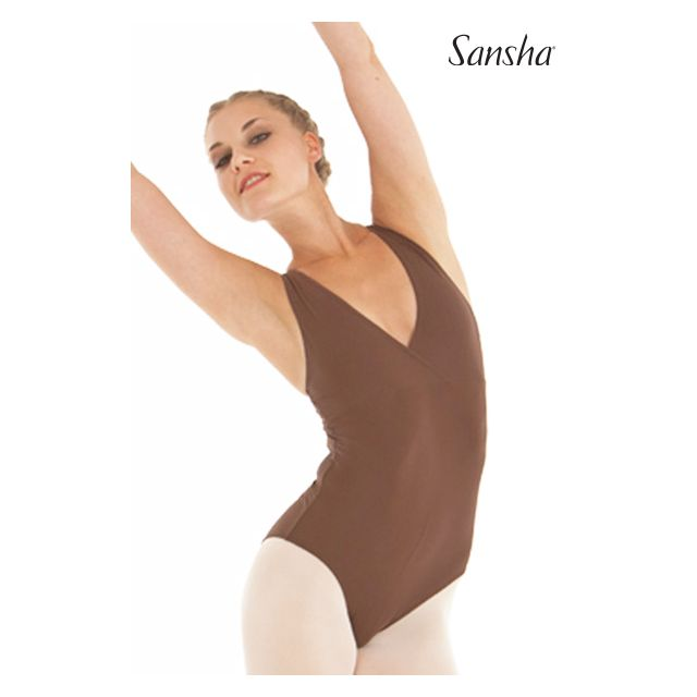 Sansha sleeveless leotard TANUJA LE2542T