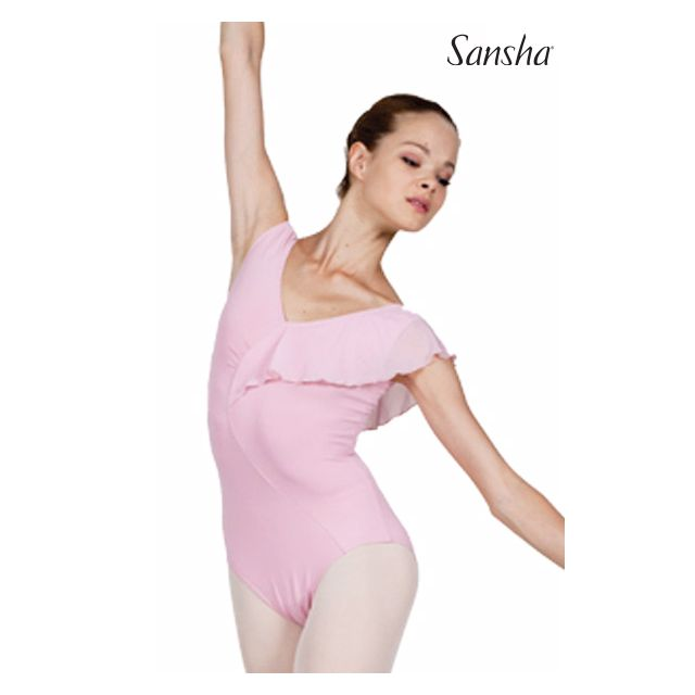 Sansha sleeveless leotard TATIANA LE2546M