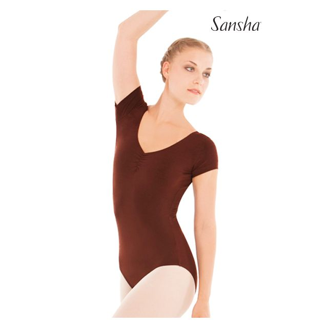 Sansha Short sleeve leotard TESIA LE3515M