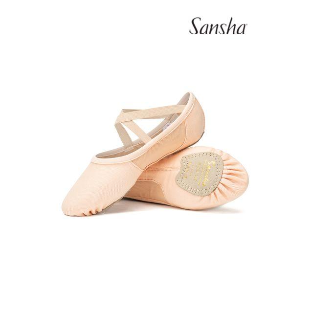 Sansha soft ballet shoes SLIM 30C
