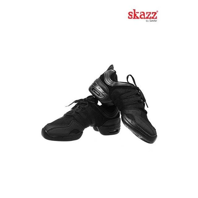 Sansha Skazz Low top sneakers TUTTO NERO P922M