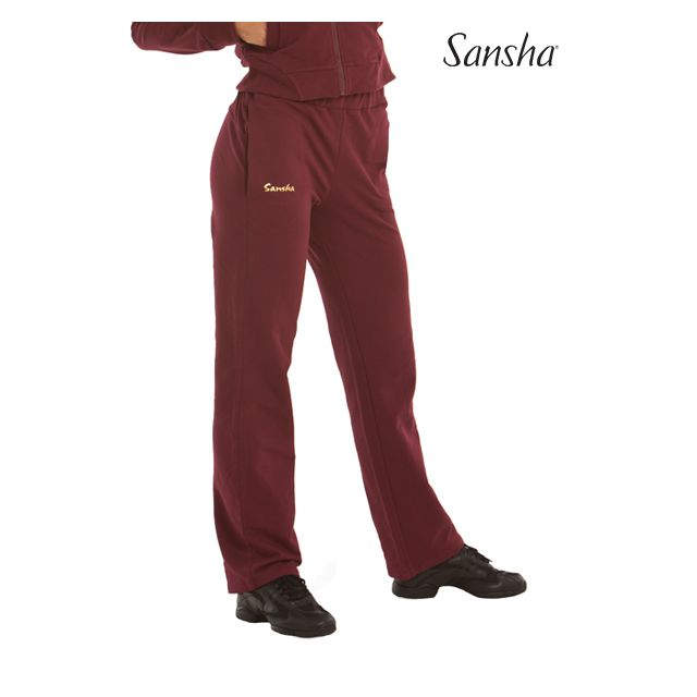 Sansha Straight leg sweatpants PHILO PL0105C