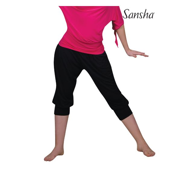 Sansha 3/4 pantsWide cut PATSY PL0401R