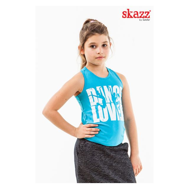 Sansha Skazz sleeveless top LOVER SKY1634V
