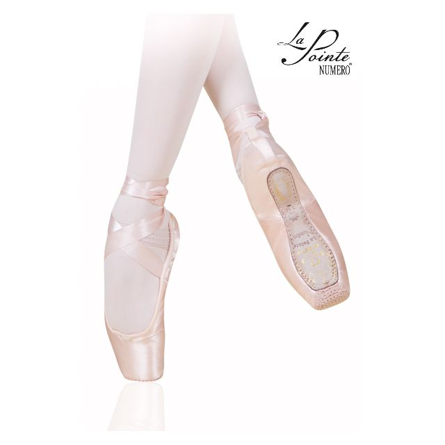 LaPointe pointe shoes leather sole NUMERO 4 4SL