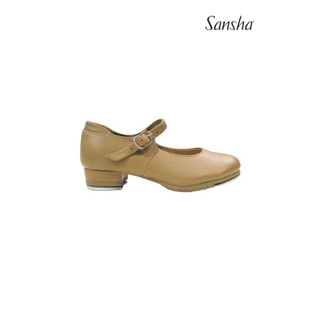 Sansha girls tap shoe genuine TEE-COMET TA27L