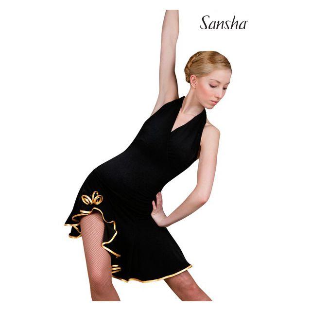 Sansha Ballroom asymetric skirt SARA W0701P