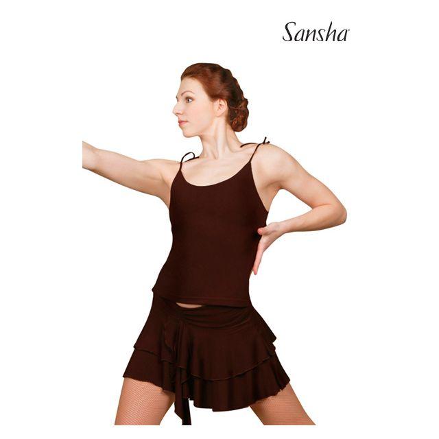 Sansha Ballroom camisole top TRINITA W1003P