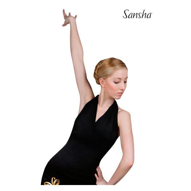 Sansha Ballroom halter top tieback TELA W7001P