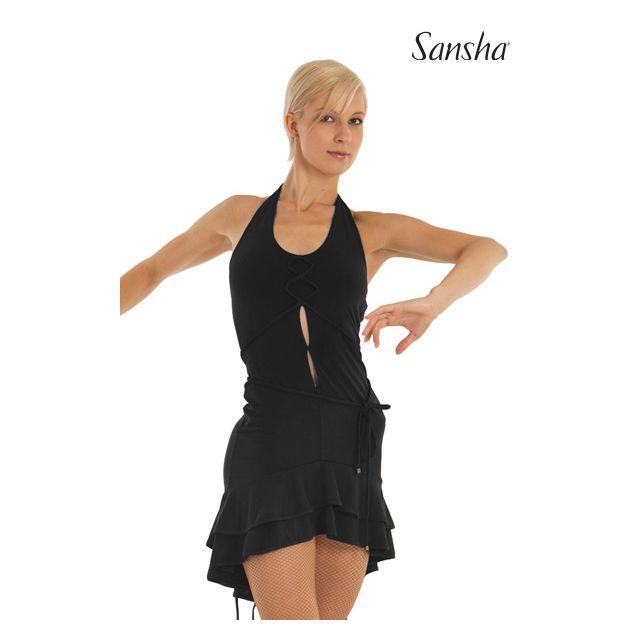 Sansha ballroom dress tieback DELFINA W7701P