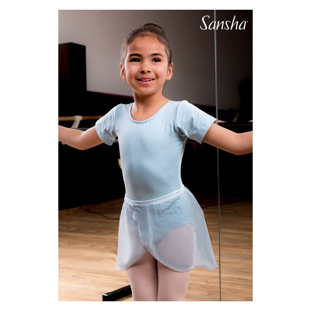 Sansha short sleeves leotard INDIA XY3519C