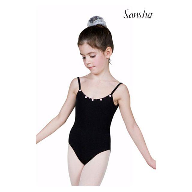 Sansha girls camisole leotard KATE Y1501C