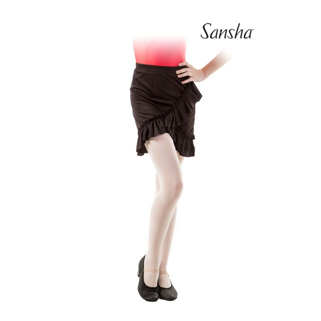 Sansha girls pull-on skirt ruffles TWYLA Y0715P