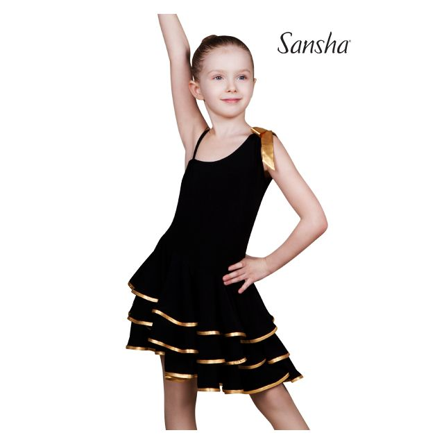 Sansha sleeveless ballroom dress BIANCA Y1709P