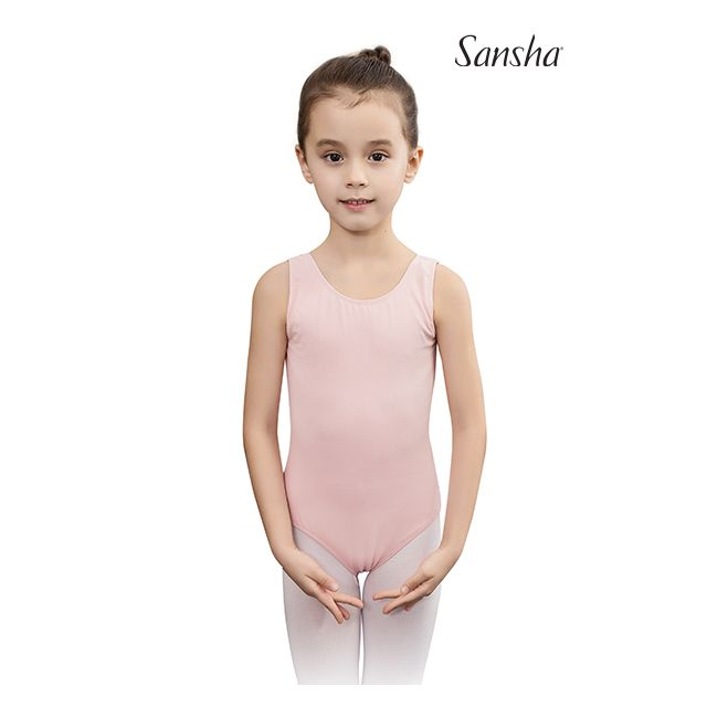 Y2555C SHANICE Girls sleeveless leotard