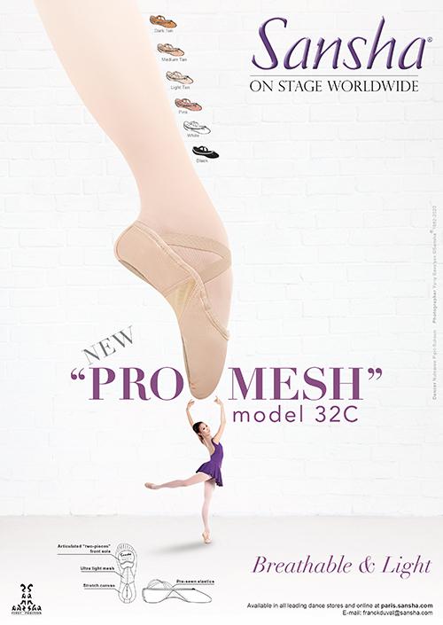 """NEW Sansha """"PRO-MESH"""" 32C"""